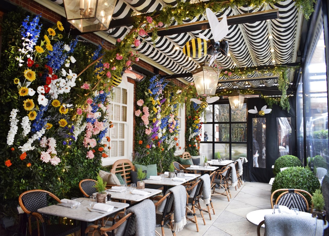 RESTAURANT REVIEW: DALLOWAY TERRACE U2013 THE IDEAL RESTAURANT FOR UPPING YOUR  INSTAGRAM GAME THIS SPRING